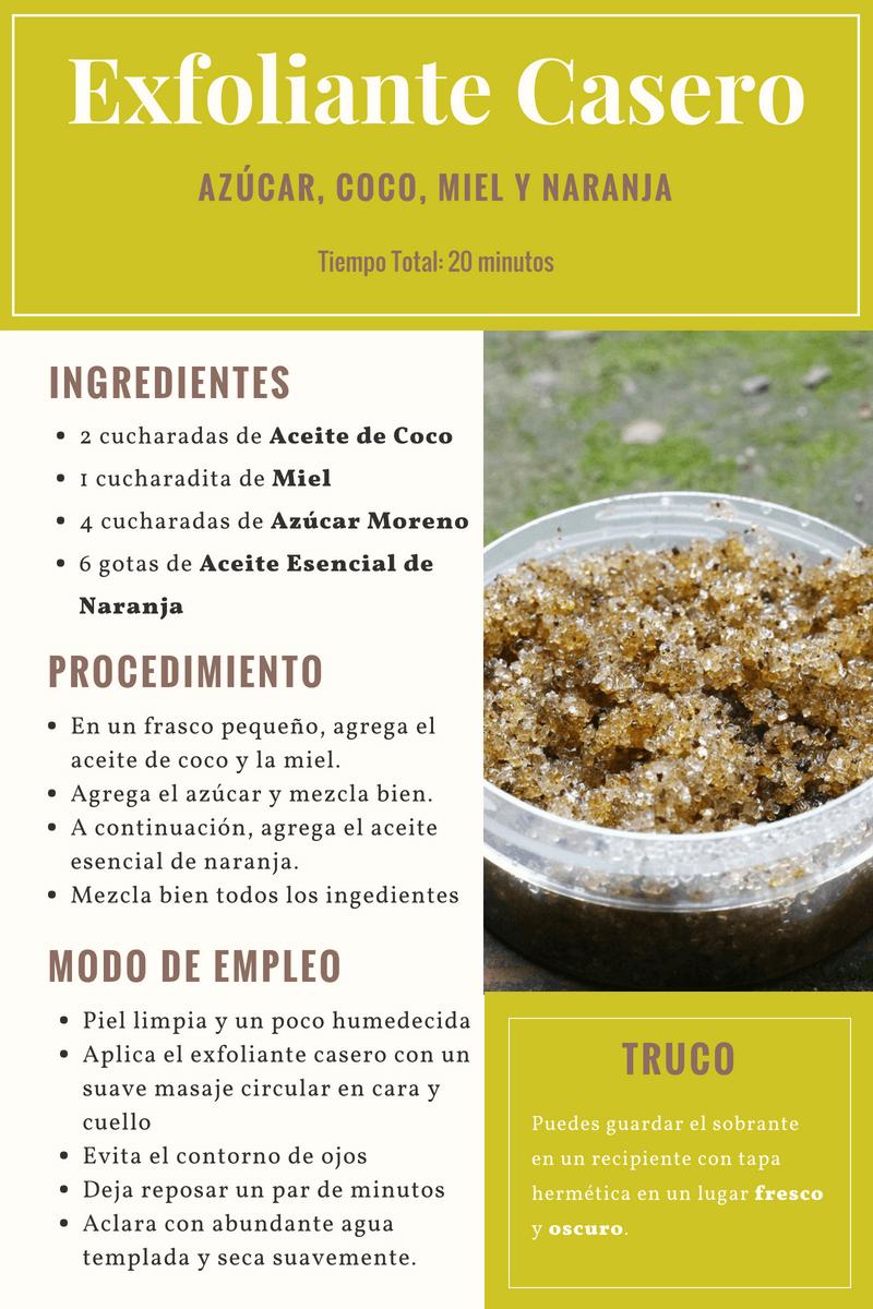 Exfoliante Facial Casero De Azúcar Y Aceite De Coco Indi Style
