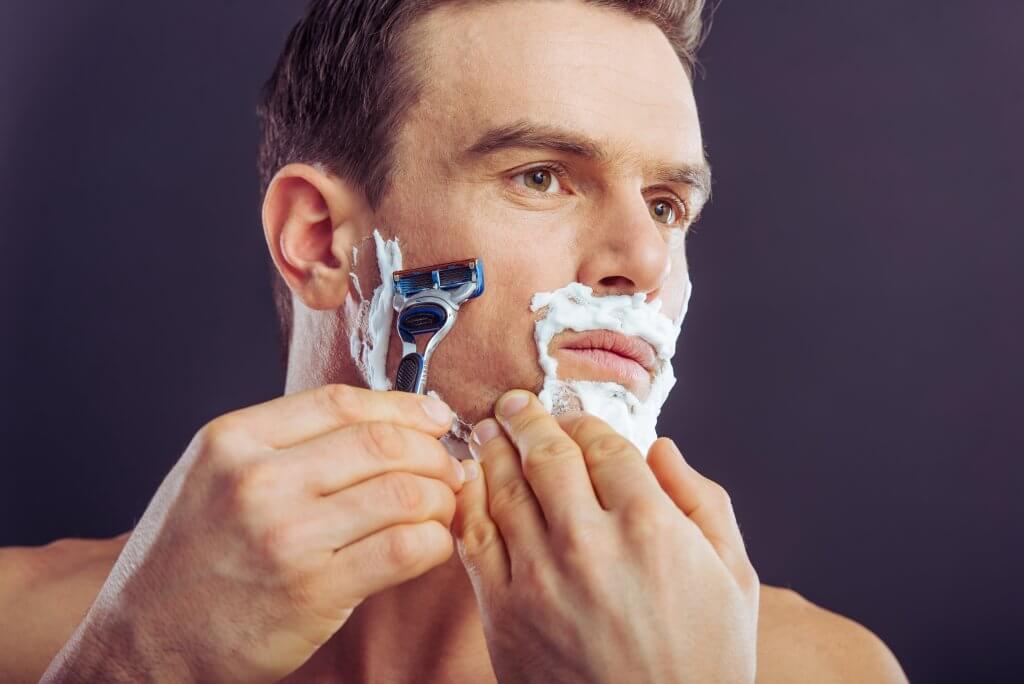 Belleza masculina Afeitado