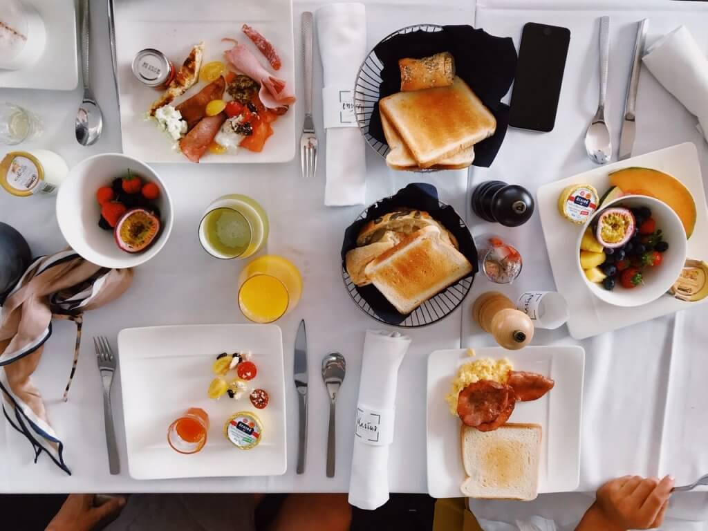 vida saludable desayuno